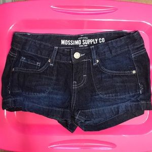 Mossimo size 6 shorts dark blue